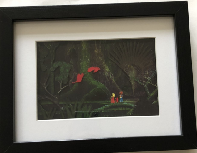Secret of Mana 3D Art Shadow Box Diorama